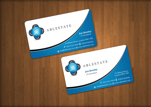 IT Consulting Business Cards and Stationery  Draft # 46 by einsanimation