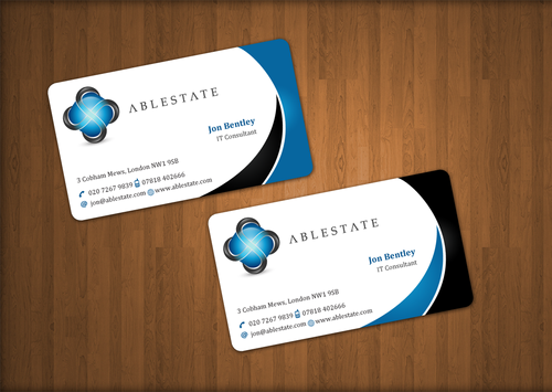 IT Consulting Business Cards and Stationery  Draft # 50 by einsanimation