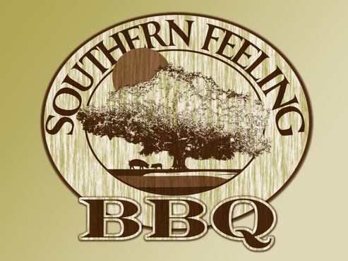 Southern Feeling BBQ  A Logo, Monogram, or Icon  Draft # 43 by dannymcgill