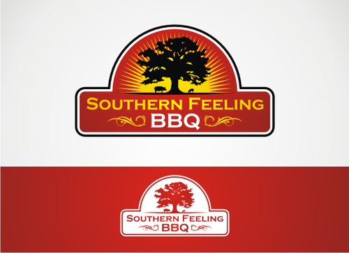 Southern Feeling BBQ  A Logo, Monogram, or Icon  Draft # 50 by alpino