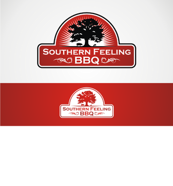 Southern Feeling BBQ  A Logo, Monogram, or Icon  Draft # 61 by alpino