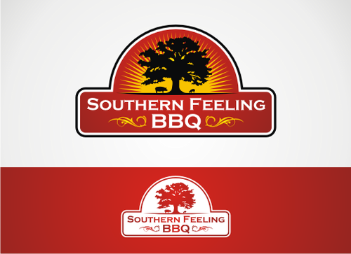 Southern Feeling BBQ  A Logo, Monogram, or Icon  Draft # 62 by alpino