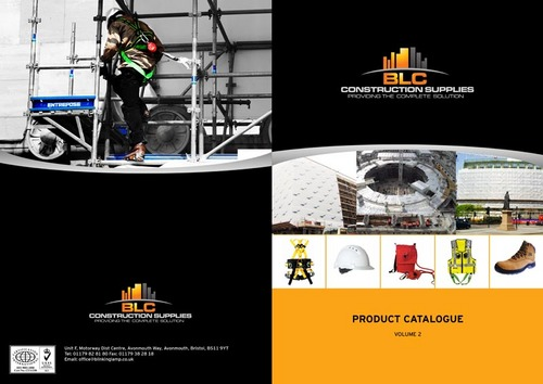 BLCCS Company Product Brochure Design