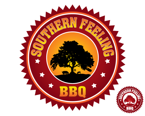 Southern Feeling BBQ  A Logo, Monogram, or Icon  Draft # 82 by kxdesigns
