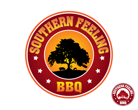 Southern Feeling BBQ  A Logo, Monogram, or Icon  Draft # 84 by kxdesigns
