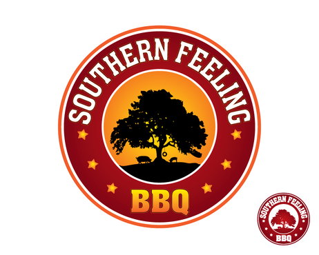 Southern Feeling BBQ  A Logo, Monogram, or Icon  Draft # 85 by kxdesigns