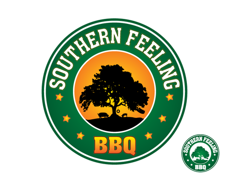 Southern Feeling BBQ  A Logo, Monogram, or Icon  Draft # 86 by kxdesigns