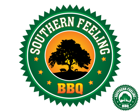 Southern Feeling BBQ  A Logo, Monogram, or Icon  Draft # 88 by kxdesigns