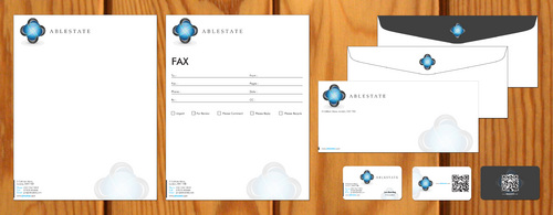 IT Consulting Business Cards and Stationery  Draft # 106 by smartinfo