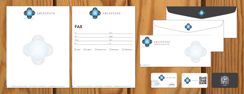 IT Consulting Business Cards and Stationery  Draft # 107 by smartinfo