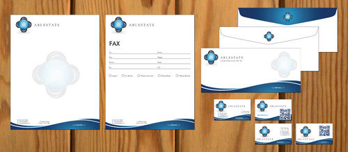 IT Consulting Business Cards and Stationery  Draft # 108 by smartinfo