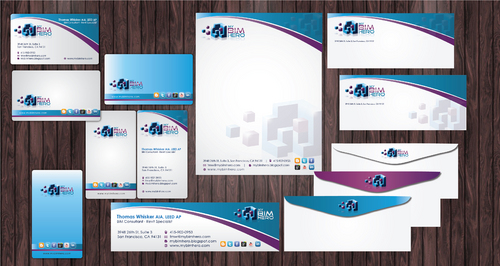 design for high tech consultant in 3D architecture