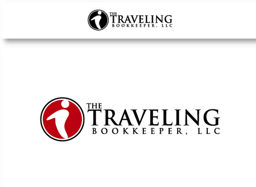 The Traveling Bookkeeper, LLC A Logo, Monogram, or Icon  Draft # 11 by maskiter