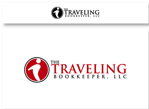 The Traveling Bookkeeper, LLC A Logo, Monogram, or Icon  Draft # 13 by maskiter