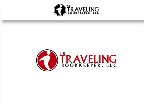 The Traveling Bookkeeper, LLC A Logo, Monogram, or Icon  Draft # 26 by maskiter
