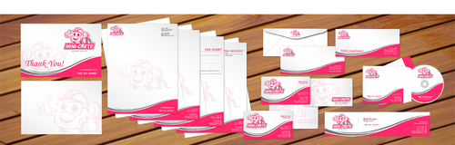 B/Cards, Letterhead, Fax Header, Email Signature, Envelopes, With Compliments,etc