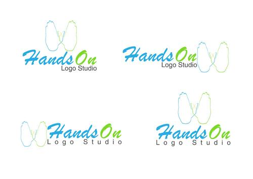 Hands On Logo Studio A Logo, Monogram, or Icon  Draft # 26 by permana91