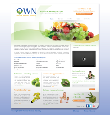 Holistic Nutrition & Wellness Services