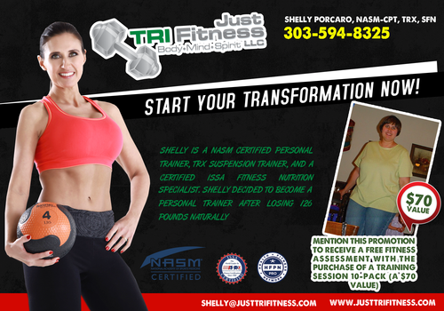 """Just TRI Fitness, LLC"", Personal Training and Sports Nutrition Company"