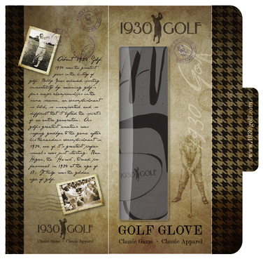 Designing a new golf glove envelope package