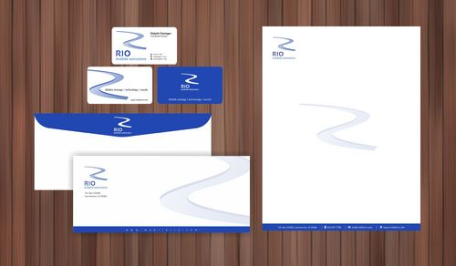 business card, letterhead, envelope, digital signature Business Cards and Stationery  Draft # 105 by Xpert
