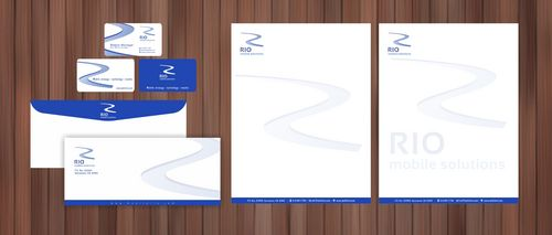 business card, letterhead, envelope, digital signature Business Cards and Stationery  Draft # 109 by Xpert