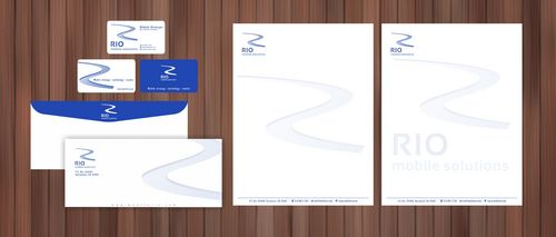 business card, letterhead, envelope, digital signature Business Cards and Stationery  Draft # 110 by Xpert