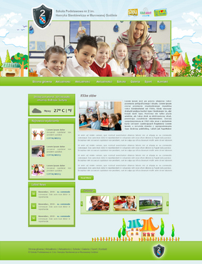 Website for a Primary School