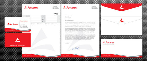Business Cards, Fax cover sheet, Stationary, Envelopes, Presentation Folder