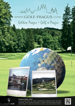 full page advertisment for www.golf-prague.com