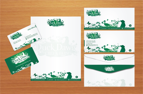 stationery and biz card