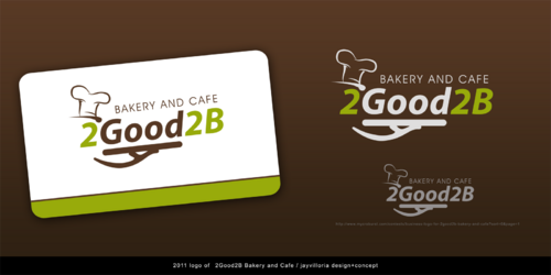 2Good2B Bakery and Cafe A Logo, Monogram, or Icon  Draft # 138 by BjAyDeSigN