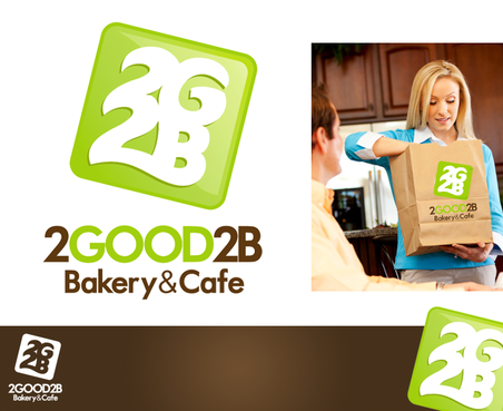 2Good2B Bakery and Cafe A Logo, Monogram, or Icon  Draft # 257 by DesignWizard