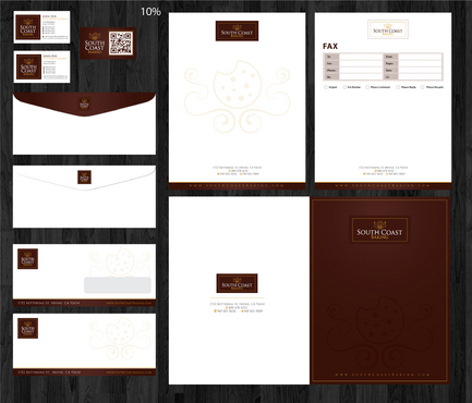 Stationery and Business card design