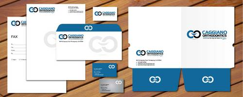 Presentation Folder, Business Card, Letterhead, Trifold brochure, and envelopes