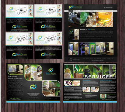 Flyer, edm, web template, product label, brochure, vouchers