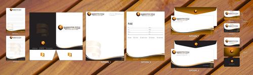 Business Card, Stationery, Folder and Notepad Design