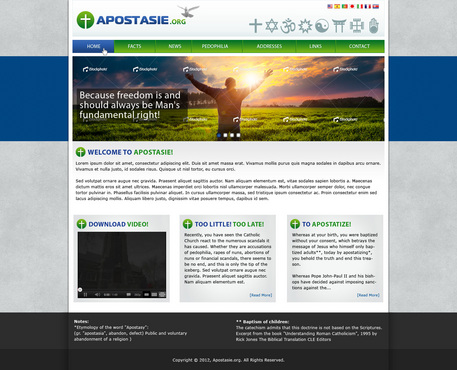 Apostasy website