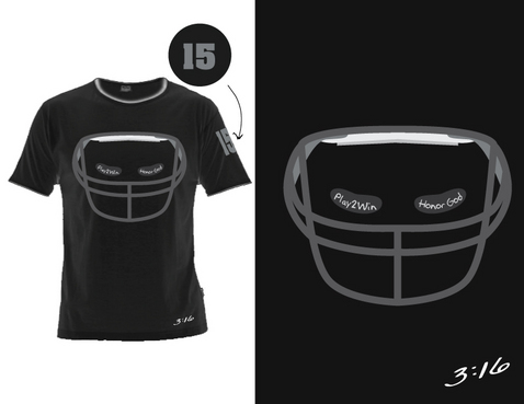 Tim Tebow T-shirt design