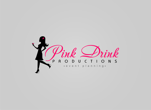 Pink Drink Productions  A Logo, Monogram, or Icon  Draft # 53 by gondezh