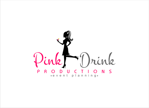Pink Drink Productions  A Logo, Monogram, or Icon  Draft # 54 by gondezh