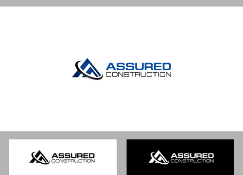 Assured Construction A Logo, Monogram, or Icon  Draft # 9 by dermawan
