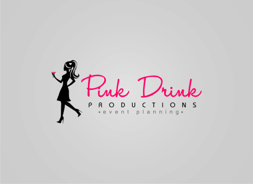 Pink Drink Productions  A Logo, Monogram, or Icon  Draft # 90 by gondezh