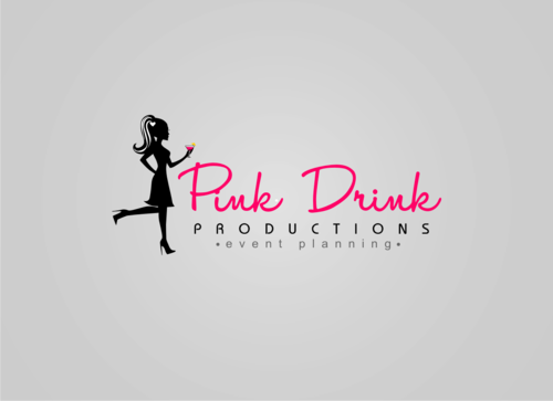 Pink Drink Productions  A Logo, Monogram, or Icon  Draft # 92 by gondezh
