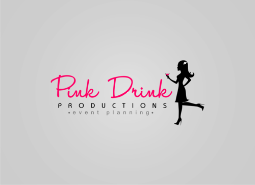 Pink Drink Productions  A Logo, Monogram, or Icon  Draft # 93 by gondezh