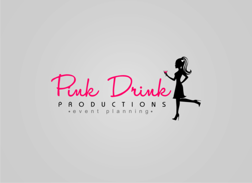 Pink Drink Productions  A Logo, Monogram, or Icon  Draft # 94 by gondezh