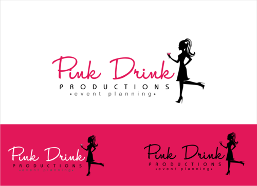 Pink Drink Productions  A Logo, Monogram, or Icon  Draft # 96 by gondezh