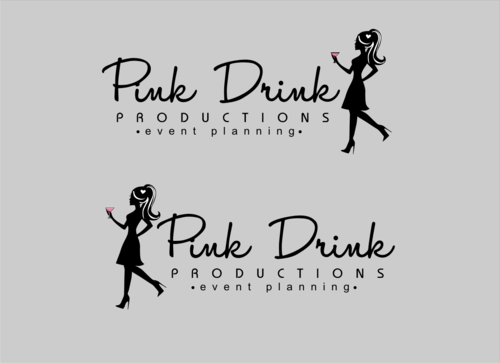 Pink Drink Productions  A Logo, Monogram, or Icon  Draft # 97 by gondezh