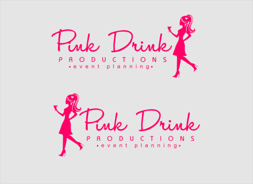 Pink Drink Productions  A Logo, Monogram, or Icon  Draft # 99 by gondezh