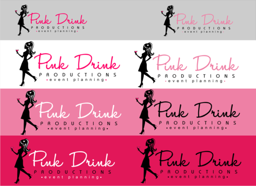 Pink Drink Productions  A Logo, Monogram, or Icon  Draft # 100 by gondezh